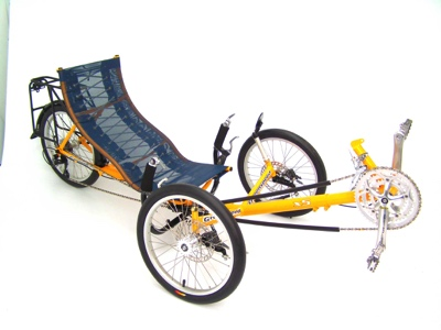Greenspeed X5 Folding Trike