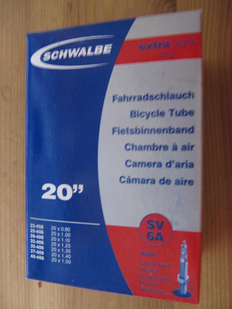 Schwalbe Presta (French style valve) Inner Tubes